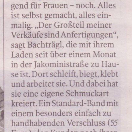 Kleine Zeitung: Unikate zum Umhängen