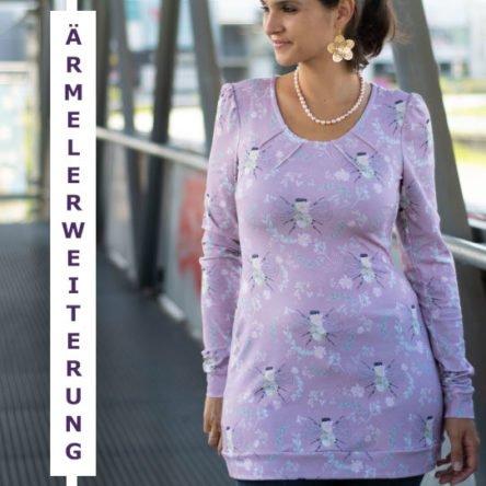 Wrinkle-Neck-Dress Ärmelerweiterung (OHNE Unterteile!) – Größe 32-50