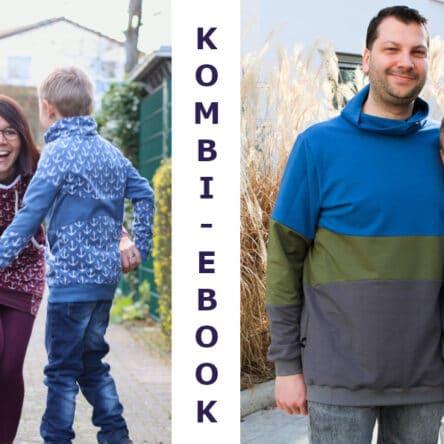 4er Paket Bow-Cut-Hoodie KIDS/TEENS/WOMEN/MEN (Größen 74-116, 122-164, 32-50, XS-XXL)